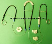 VW POLO 6N WINDOW REGULATOR REPAIR KIT FRONT RIGHT